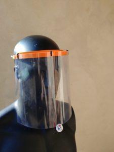 Visière de protection imprimée en 3D au FabLab